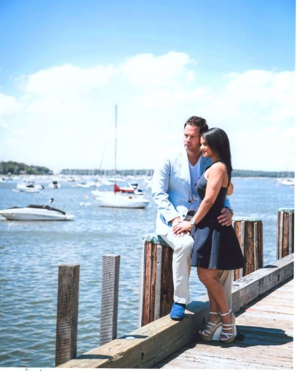 Engagement, Laura Cappiello and Joseph Stankus