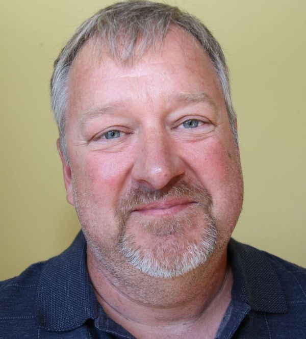 Matthew Blasavage, Democratic candidate for Litchfield first selectman. John McKenna Republican-American