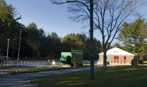 The Town of Litchfield Sewer Department facility. The Bantam River has seen heavy flows of sewage this year with little public notice.  Jim Shannon Republican-American