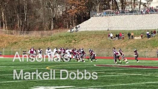 Holiday football: Ansonia's Dobbs with long TD run