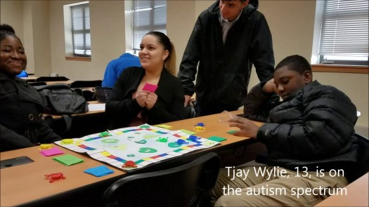 Students design games for kids with autism