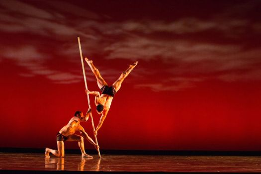 Moses Pendleton and the internationally acclaimed dancer-illusionist troupe Momix will present