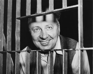 A willing subject for news camermen is George Metesky, 53, a Waterbury man who confessed to being New York's