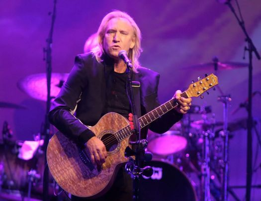 Associated Press Joe Walsh and The Eagles are planning a stop in Hartford on Oct. 6.