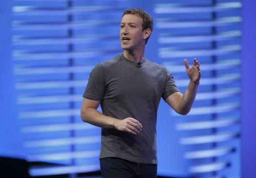 Facebook CEO Mark Zuckerberg. TNS