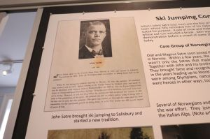 Johan Satre can be credited with bringing ski jumping to the town of Salisbury. Ruth Epstein Republican-American