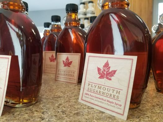 Plymouth Sugarworks grade A maple syrup, amber or dark, is organic, with no chemicals or preservatives. Contributed