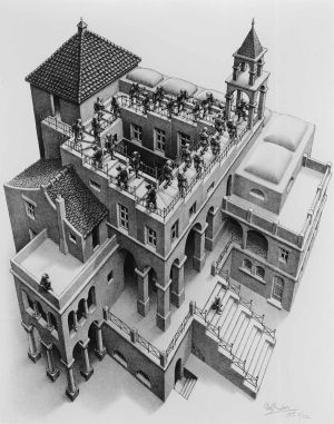 M.C. Escher's 'Ascending and Descending'  Contributed