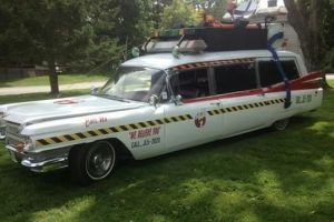 Contributed Ecto-1, the car from 'Ghostbusters,' is one the new features of the Connecticut Indoor Cabin Fever Custom Car & Motorcycle Show in Naugatuck this weekend. Last March, the event drew more than 8,000 people.