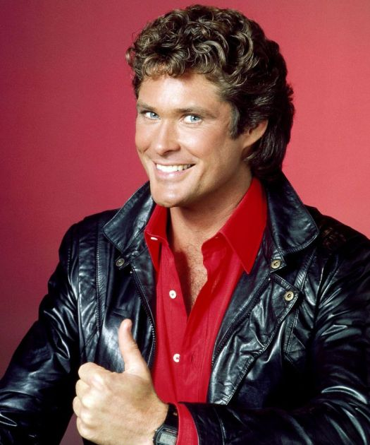 David Hasselhoff as Michael Knight. NBC