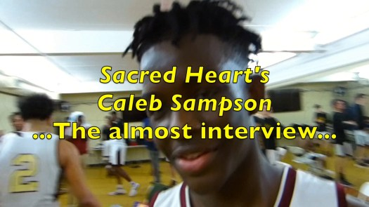 Caleb Sampson and the almost interview
