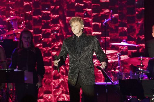 Barry Manilow performs onstage at the 2018 Pre-Grammy Gala And Salute To Industry Icons at the Sheraton New York Times Square Hotel on Saturday, Jan. 27, 2018, in New York. (Photo by Michael Zorn/Invision/AP)