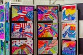 WOODBURY, CT. 07 June 2018-060718BS572 - Region 14 second grade students display their art at an art show at Nonnewaug High School on Thursday afternoon. Bill Shettle Republican-American