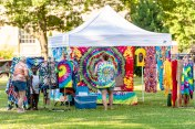 WATERBURY, CT. 30 June 2018-063018BS424 - A sampling of the many vendors on site during the Fourth Annual Jerk Festival featuring authentic food from the Caribbean at Library Park in Waterbury, CT on Saturday afternoon. Bill Shettle Republican-American