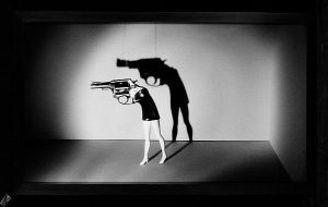 'Walking Gun' by Laurie Simmons, in the collection of the Metropolitan Museum of Art in New Yrok.