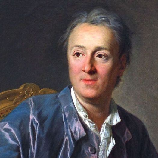 Denis Diderot, who coined the phrase