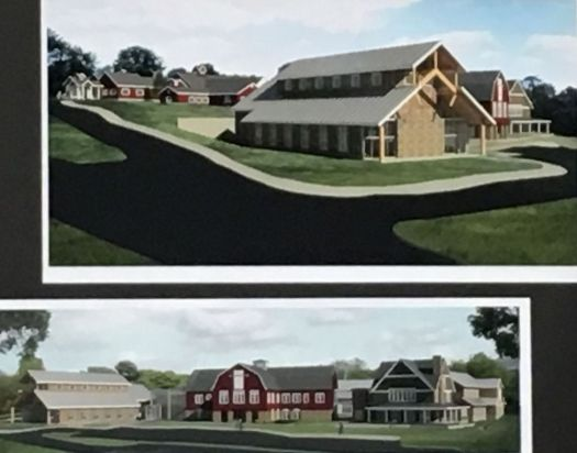 High Watch Recovery Center's architectural renderings of new buildings that are being planned. A detoxification center with 12 beds is part of the proposal to the Kent Planning and Zoning Commission. Lynn Mellis Worthington Republican-American