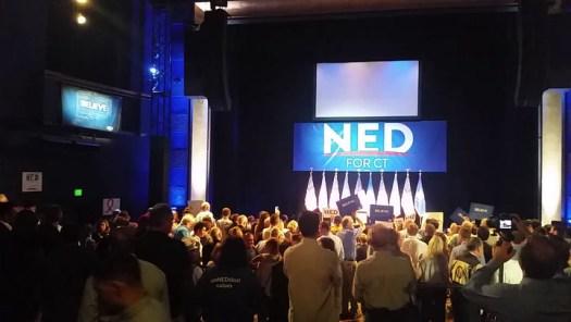 Ned Lamont's victory speech