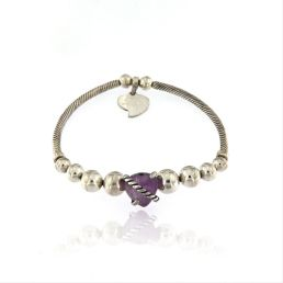 The Heart Lace Energy Bracelet is a big seller for Valentine's Day at Achiq Designs in Cheshire.