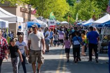 NAUGATUCK, CT. 18 May 2019-051819 - Thousands of people pack church street to the annual rite of spring, during the annual Ion Bank/Naugatuck Spring Festival on Church Street in Naugatuck on Saturday. Bill Shettle Republican-American