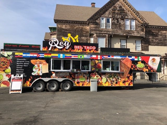 Rey del Taco parks the big rig on East Main, where theres ample parking and an indoor seating structure. Michele Morcey Republican-American