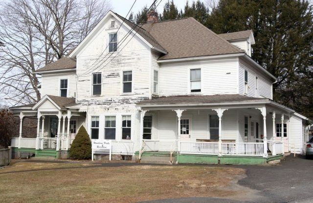 The Woodbury Historic District Commission is pursuing a grant for an engineering study on the Park and Recreation building on Mountain Road in Woodbury. Republican-American archives