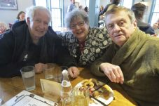 Donald and Lynne Martin and Terry Dougherty, all of Canaan.