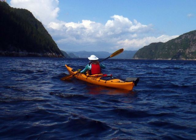 Paddling a kayak is a great way to get away from other people and think about what's ahead. (Tim Jones photo)