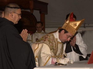 Signing of decree of canonical erection