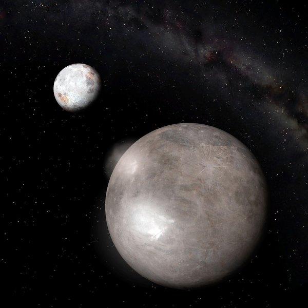 Charon Moon Of Pluto
