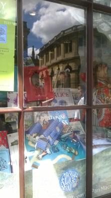 Window display at Blackwell's