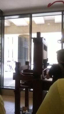 the Moxon printing-press