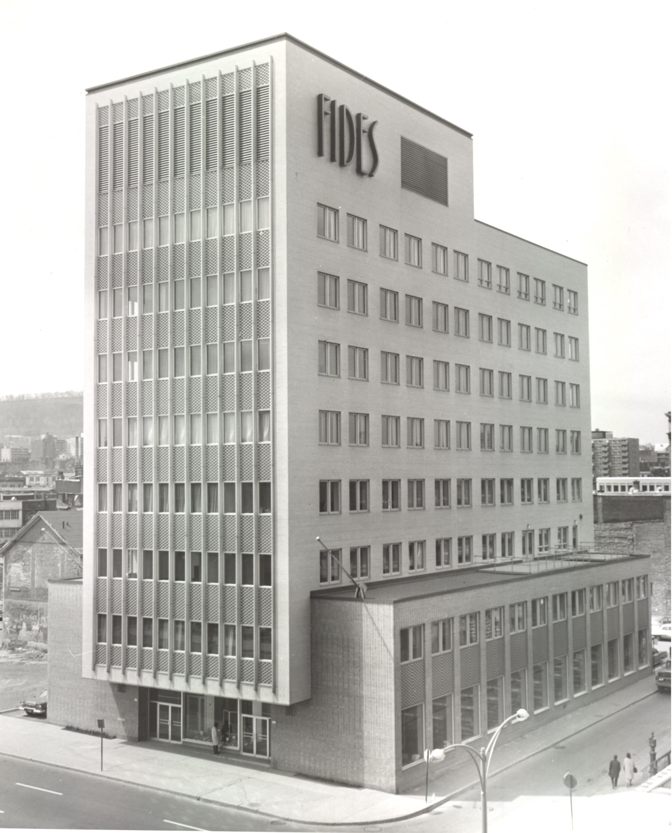 Immeuble Fides c1964