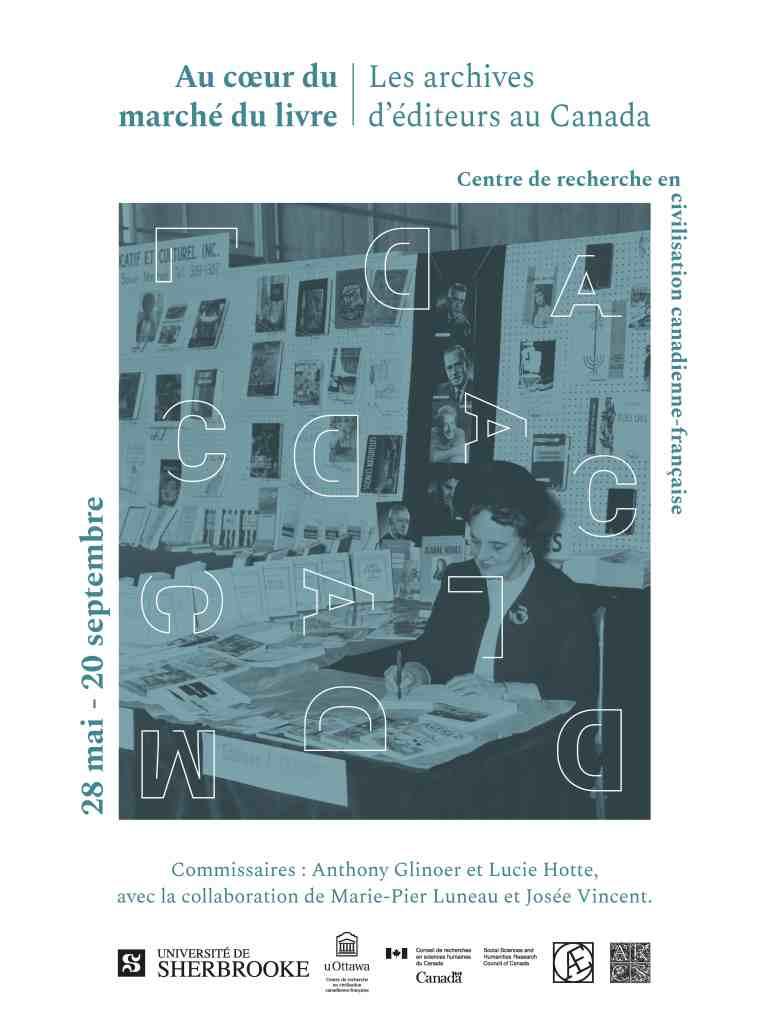 Au cœur du marché du livre - Les archives d'éditeurs au Canada