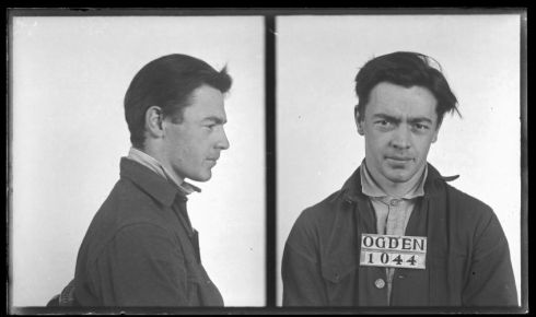 Series 83497 Ogden Police Mug Shots (further documented by Ogden Police Arrest and Jail Books).