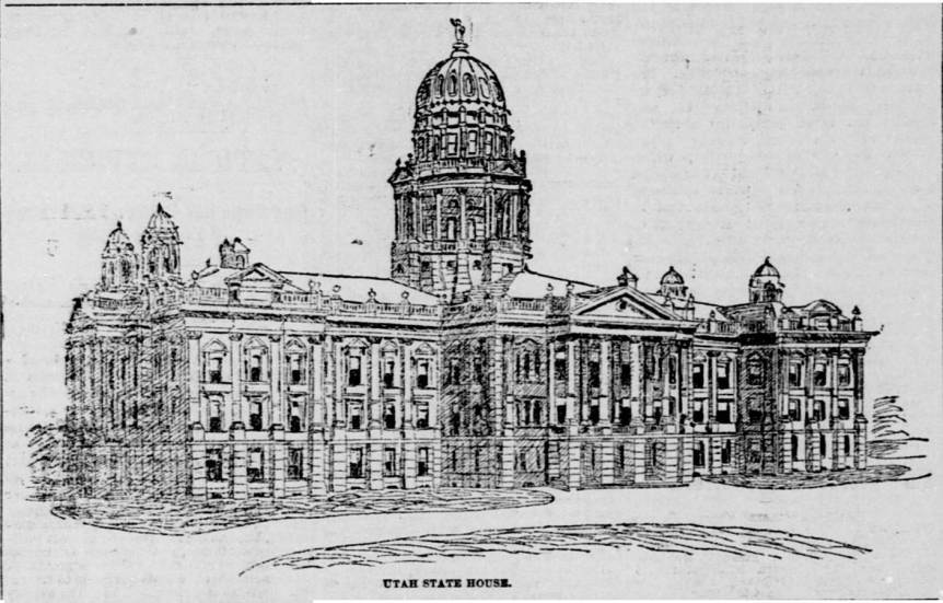 E. E. Meyers Proposed Capitol Design