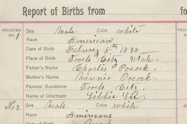 Report of Births