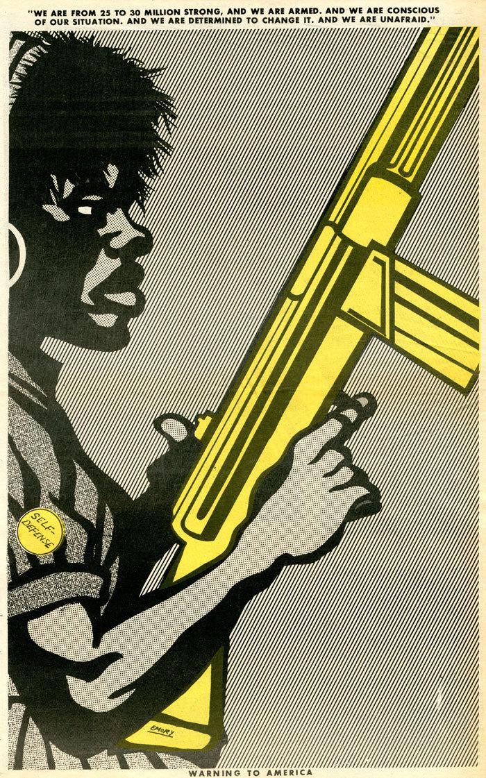 Affiche BPP 1 - Warning to America