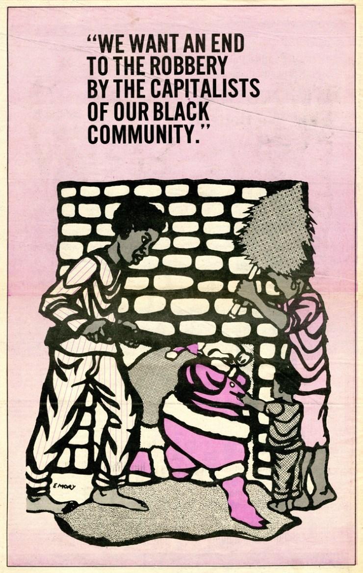 Affiche BPP - 10 Emory Douglas, 1969