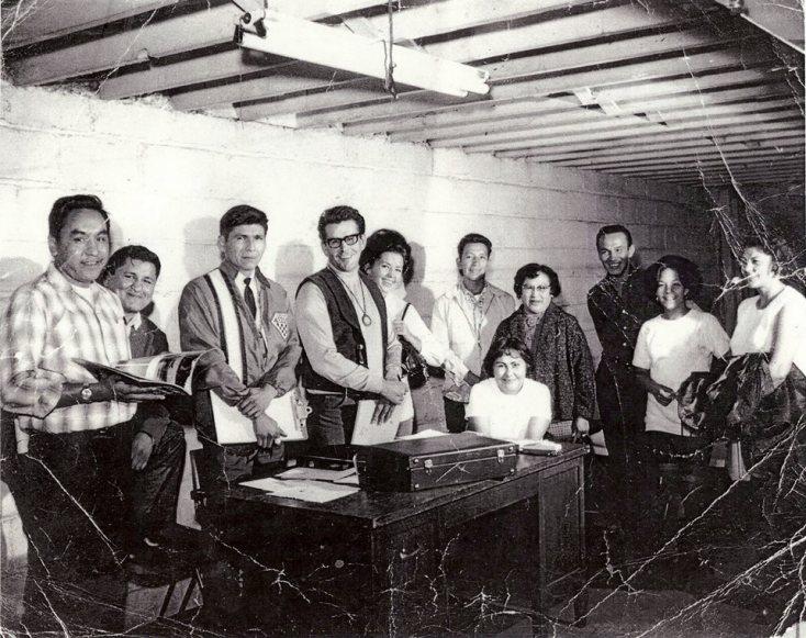 AIM's founding Board, Minneapolis, 1969