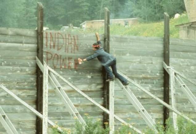 Juillet 1971 - Lac Courte Oreilles