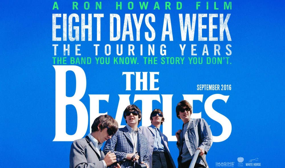 a documentary made of archival footage called The Beatles: Eight Days A Week by Ron Howard and Matt White