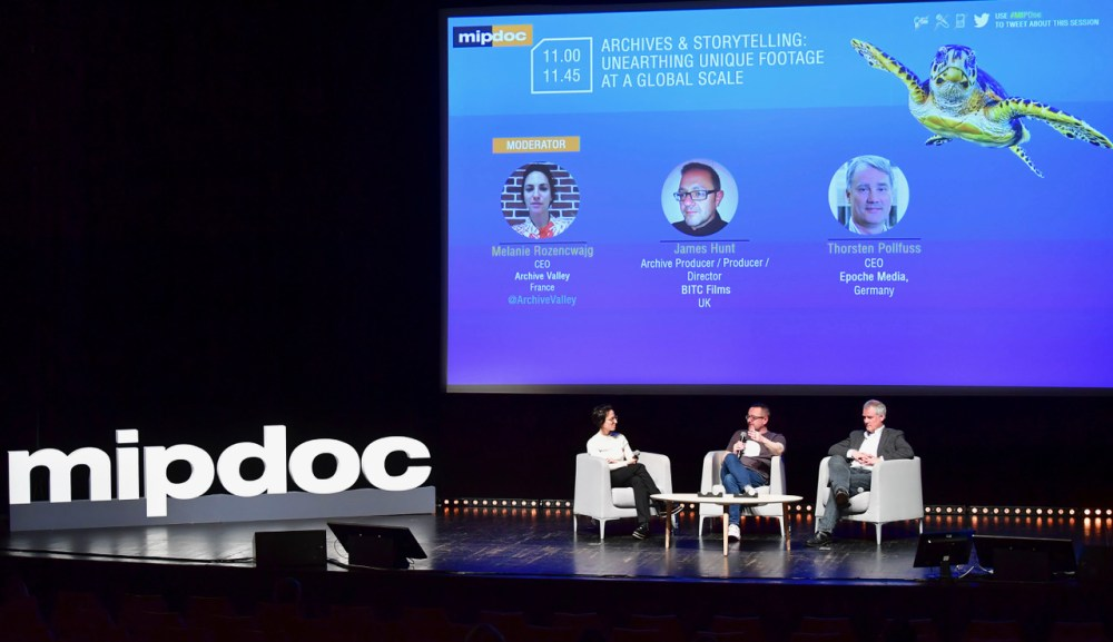 MIPDOC 2018 - CONFERENCES - ARCHIVES & STORYTELLING : UNEARTHING UNIQUE FOOTAGE AT A GLOBAL SCALE