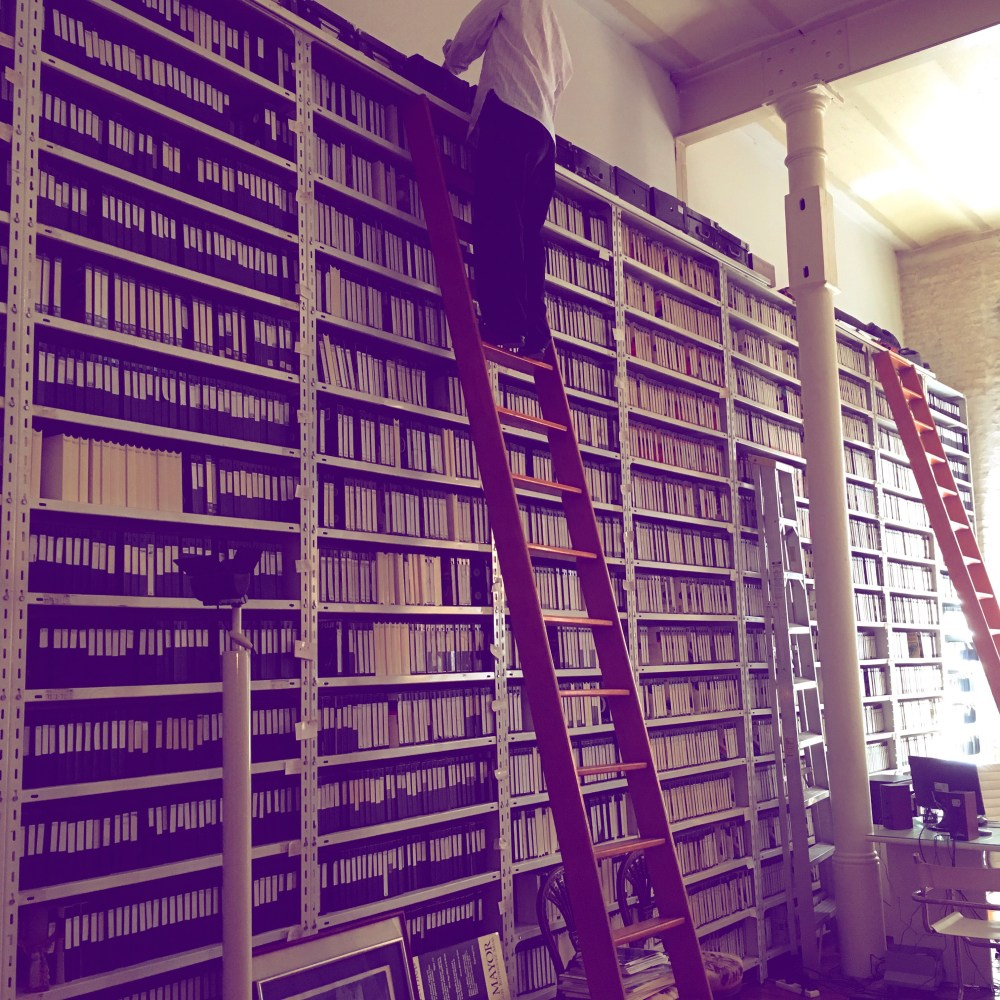 archive research in Argentina