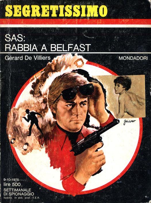 SAS: rabbia a Belfast (Segretissimo 619)
