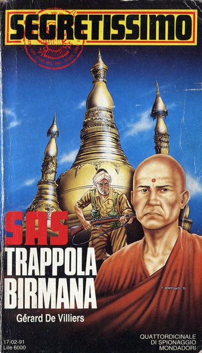 SAS Trappola birmana (Segretissimo 1169)