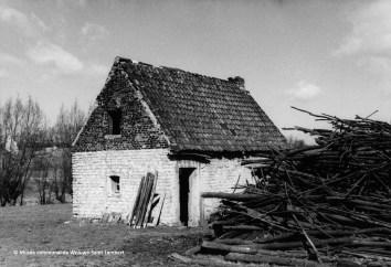 Le fournil de la ferme des Moineaux/Hof ter Musschen à Woluwe-Saint-Lambert (vers 1960)