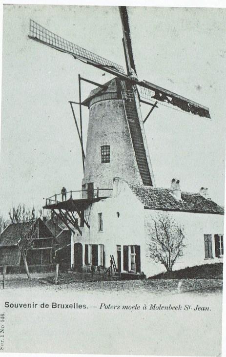 Poters Moele in Molenbeek