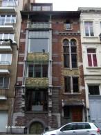 Maison Hankar, rue Defacqz n°71 (Saint-Gilles), architecte : Paul Hankar | Huis Hankar, Defacqzstraat nr. 71 (Sint-Gillis), architect : Paul Hankar – photo : © A. Wachtelaer