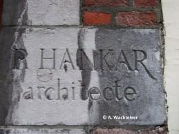 Maison Hankar, rue Defacqz n°71 (Saint-Gilles), détail de la façade, architecte : Paul Hankar | Huis Hankar, Defacqzstraat nr. 71 (Sint-Gillis), detail van de voorgevel, architect : Paul Hankar – photo : © A. Wachtelaer
